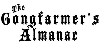 The Gongfarmer's Almanac